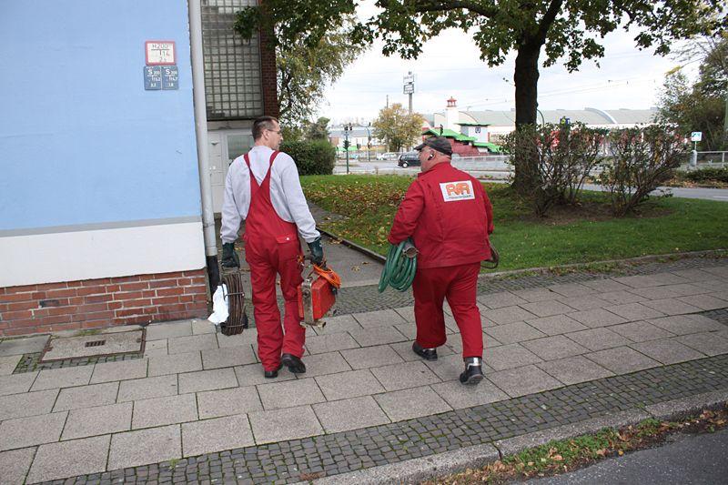 Unser Rohrreinigungsteam in Bochum